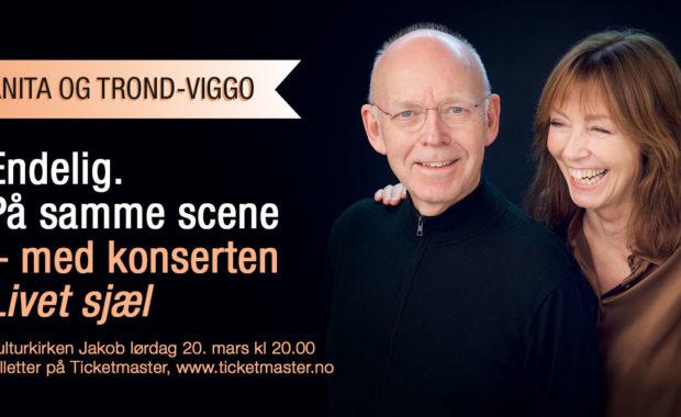 Konsert med Anita Skorgan og Trond-Viggo Torgersen