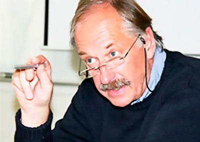Foredragsholder Johan Kaggestad